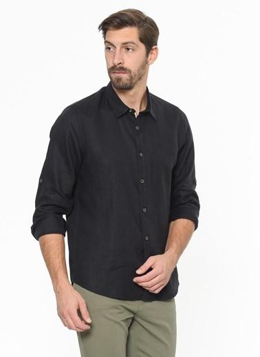 Xint Uzun Kollu Gömlek Siyah